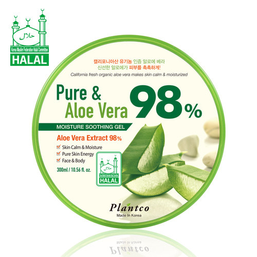 Pure&Aloe Vera 98% Moisture Soothing Gel 300ml